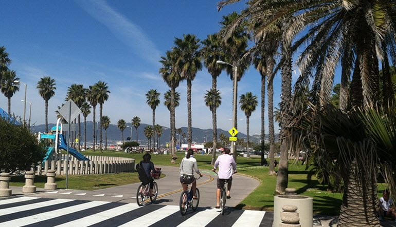 Bike Tour Santa Monica Path