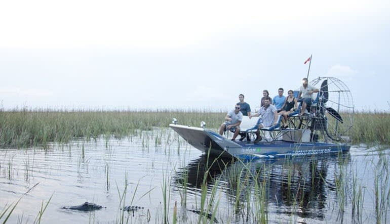 Private Everglades Airboat Tour Family