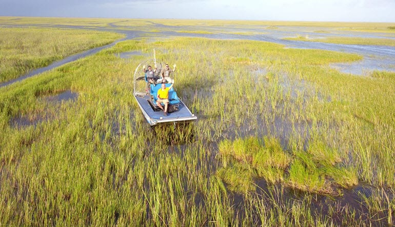 Private Everglades Airboat Tour Hello
