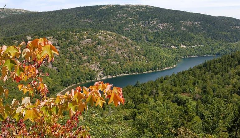 Scenic Flights of Acadia National Park Landscape
