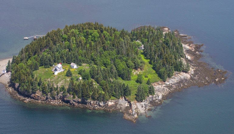 Scenic Flight Acadia Lighthouse Tour