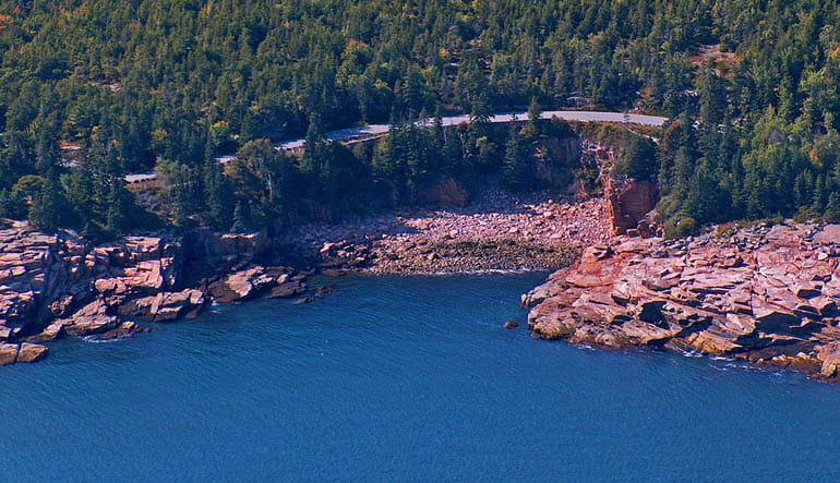 Scenic Flight Acadia Penobscot Bay Lighthouse Tour