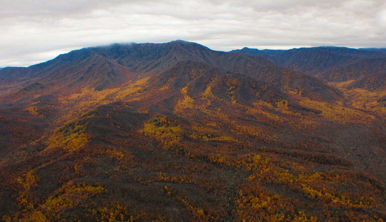 Helicopter Ride Smoky Mountains Views