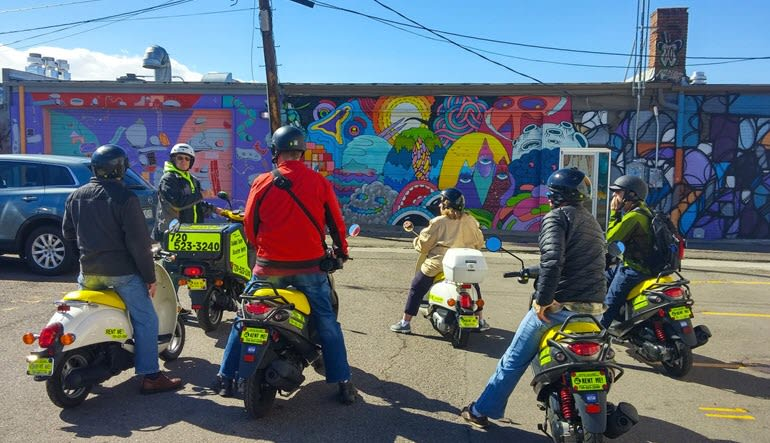 Scooter Rental Denver Tour