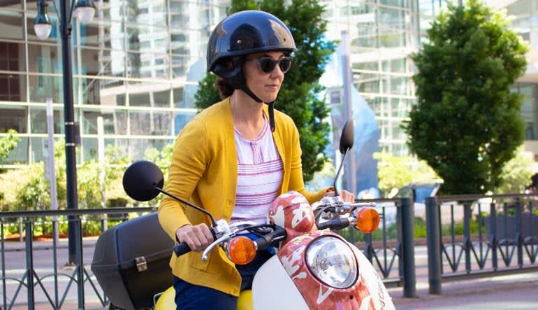 Scooter Rental Denver Lady