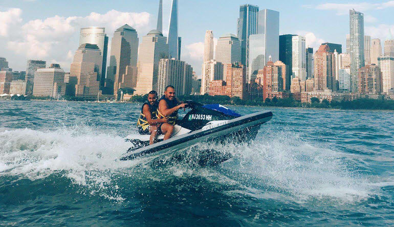 Jet Ski Tour New York City Friends