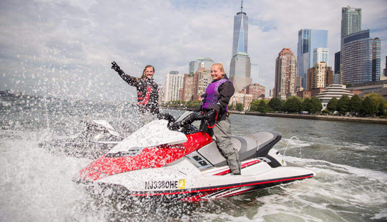 Jet Ski Tour New York City Splash
