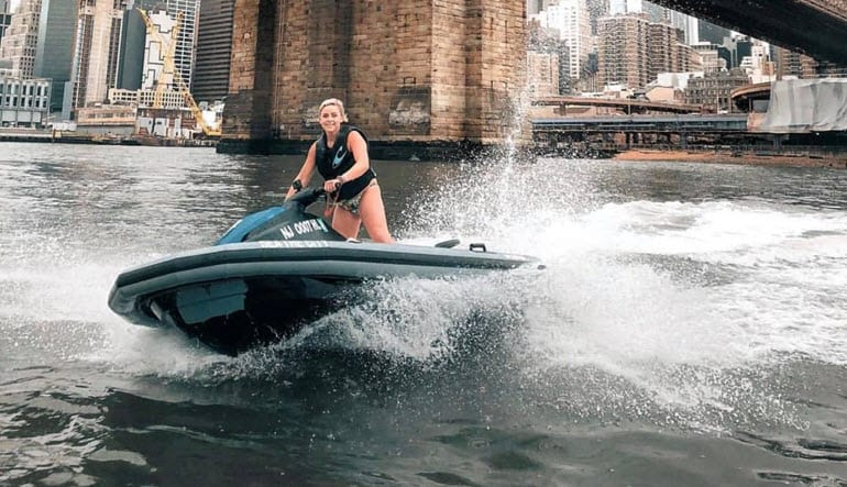 Jet Ski Tour New York City Lady
