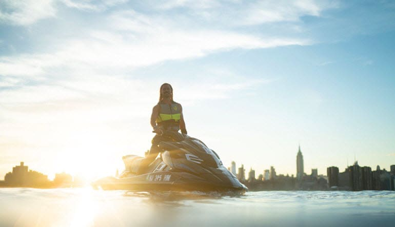 Jet Ski Tour New York City Sunset