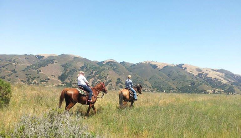 Horseback Riding Santa Cruz Ladies