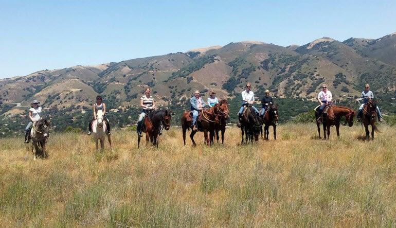 Horseback Riding Santa Cruz Mountains