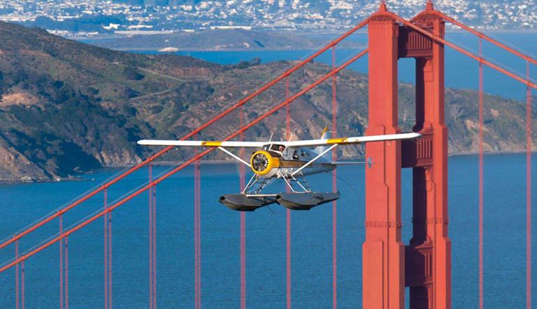 San Francisco Seaplane Ride Golden Gate Tour