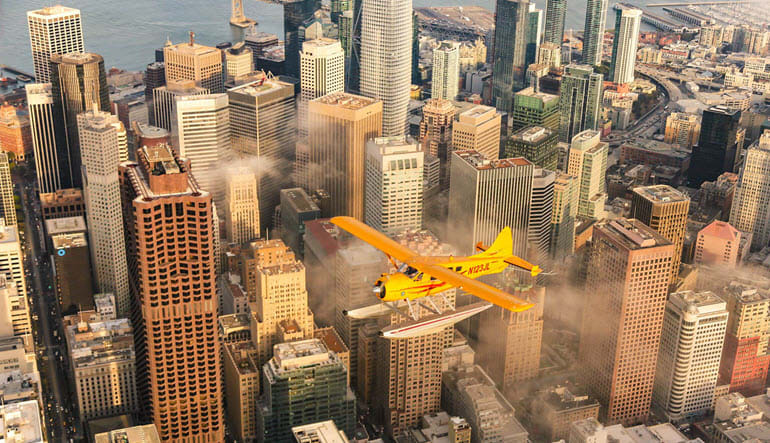 San Francisco Seaplane Ride City