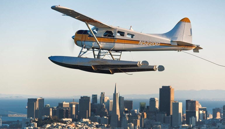 San Francisco Seaplane Ride Aircraft