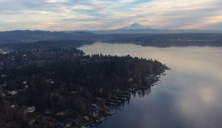 Seattle Seaplane Scenic Tour Landscape