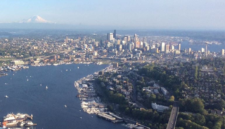 Seattle Seaplane Scenic Tour Views