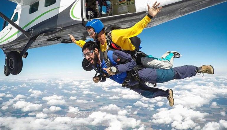 Skydive Sacramento Tandem