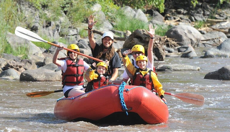 Whitewater Rafting Royal Gorge Team Effort