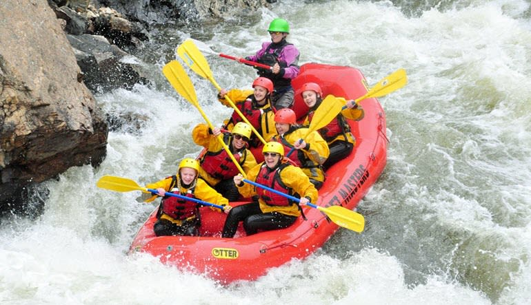 Whitewater Rafting Royal Gorge Group