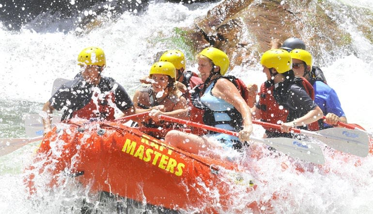 Whitewater Rafting Royal Gorge Get Wet