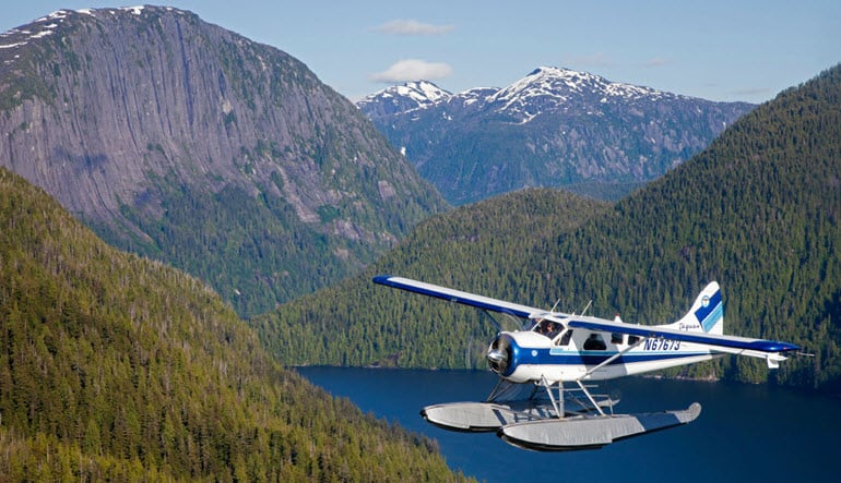 Misty Fjords Deluxe Flightseeing Adventure