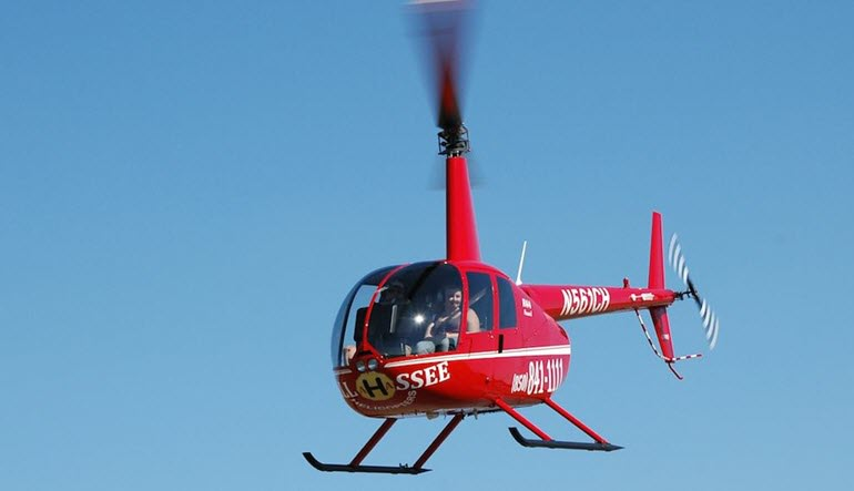 Helicopter Introductory Flight Lesson Tallahassee Red
