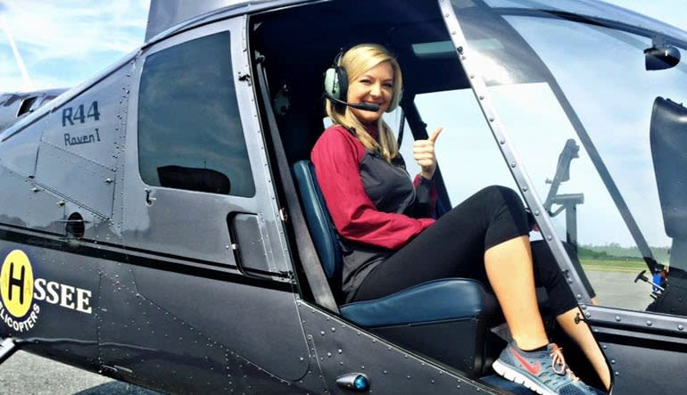 Helicopter Introductory Flight Lesson Tallahassee Lady