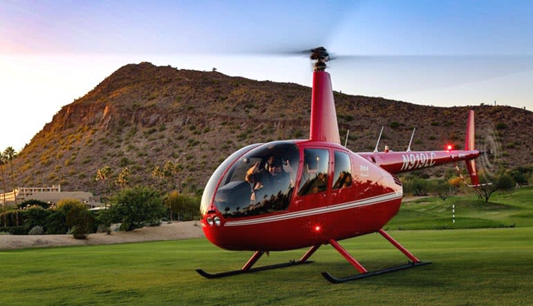 Helicopter Tour Phoenix Fountain Hills Aircraft