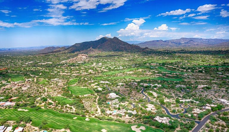 Helicopter Tour Phoenix Paradise Valley Views