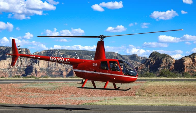 Helicopter Tour Phoenix Desert Lakes