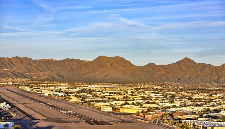 Helicopter Tour Phoenix Desert Lakes Airport