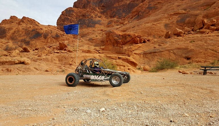 Off-Road Buggy Half Hour Drive Red Rocks