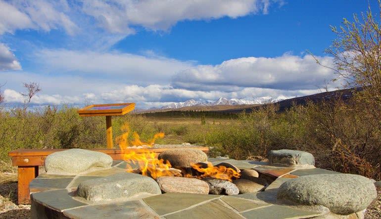 Denali Backcountry Safari Fire