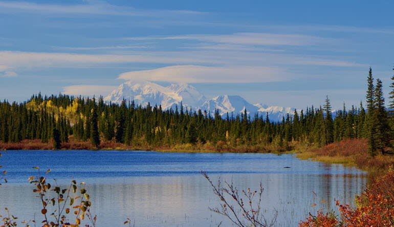 Denali Backcountry Safari Lake