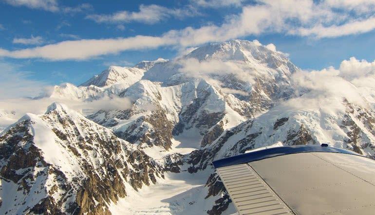 Mount Denali Plane Tour Glaicers