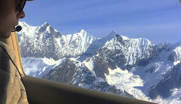 Mount Denali Plane Tour Looking Out