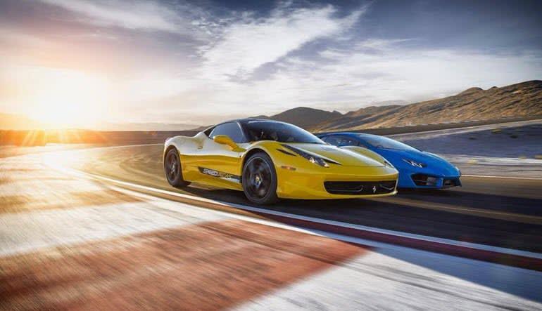 Battle of Legends 3 Supercar Drive Race