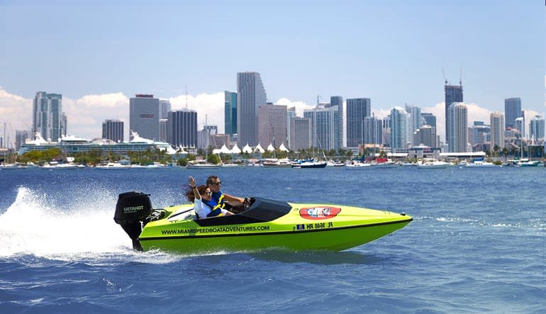Speed Boat Tour Miami