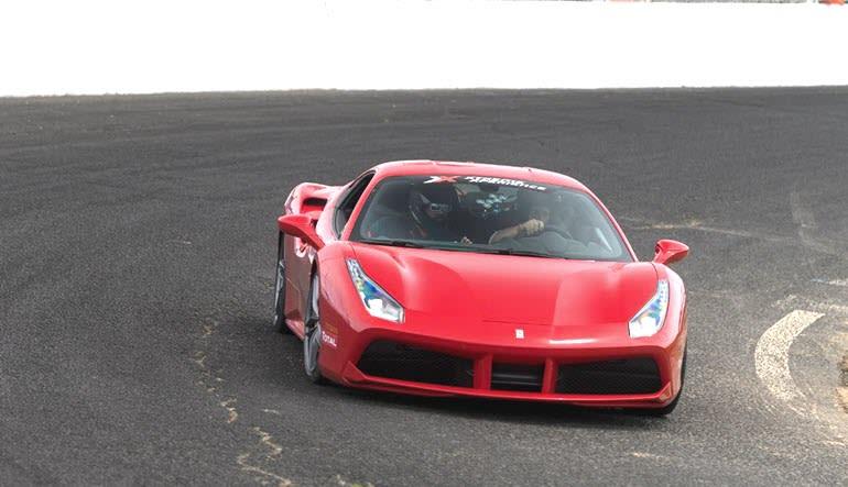 Ferrari 458 Italia 3 Lap Drive Red