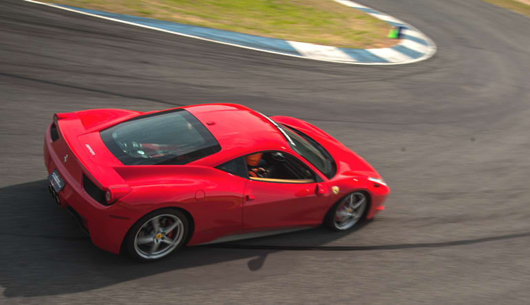Ferrari 458 Italia 3 Lap Drive
