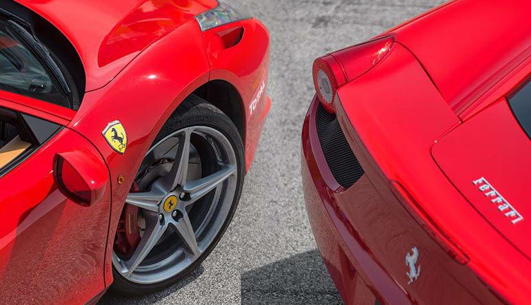 Ferrari 458 Italia 3 Lap Drive Rear & Front