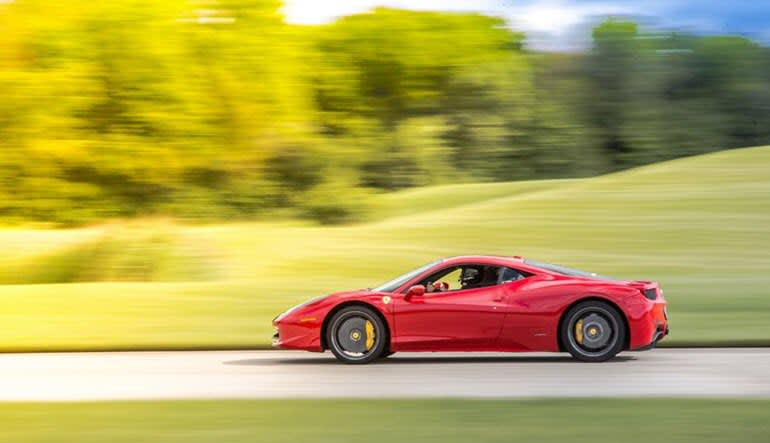 Ferrari 488 GTB 3 Lap Drive Zoom