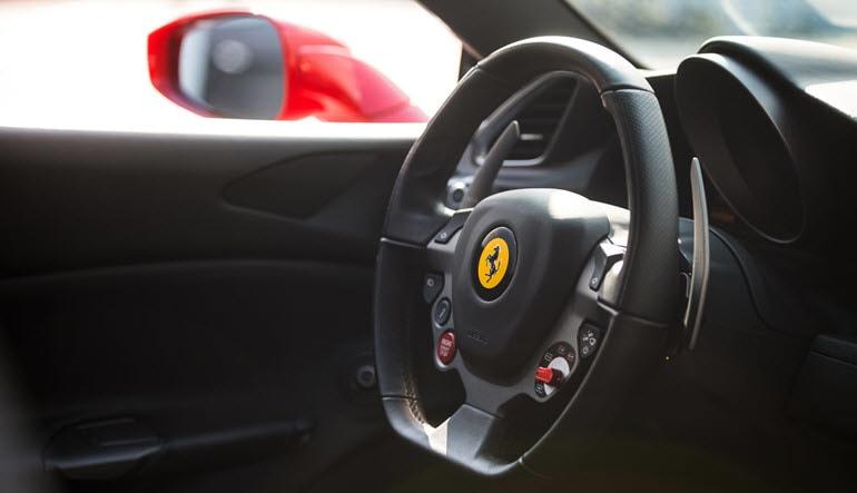 Ferrari 488 GTB 3 Lap Drive Steering Wheel
