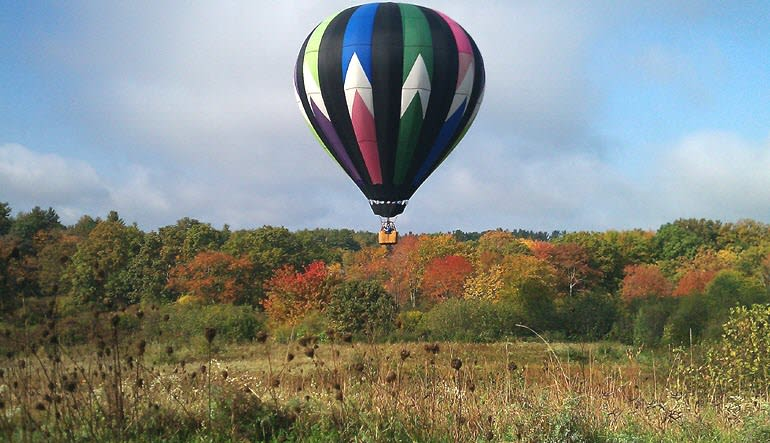 Hot Air Balloon Ride Manchester Fields