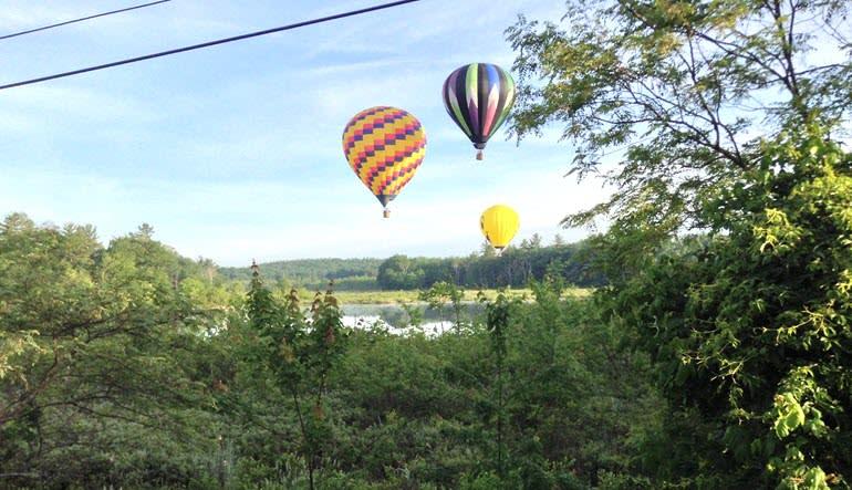 Hot Air Balloon Ride Manchester Flock