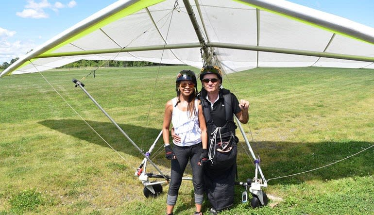 Hang Gliding New York Safe Landing