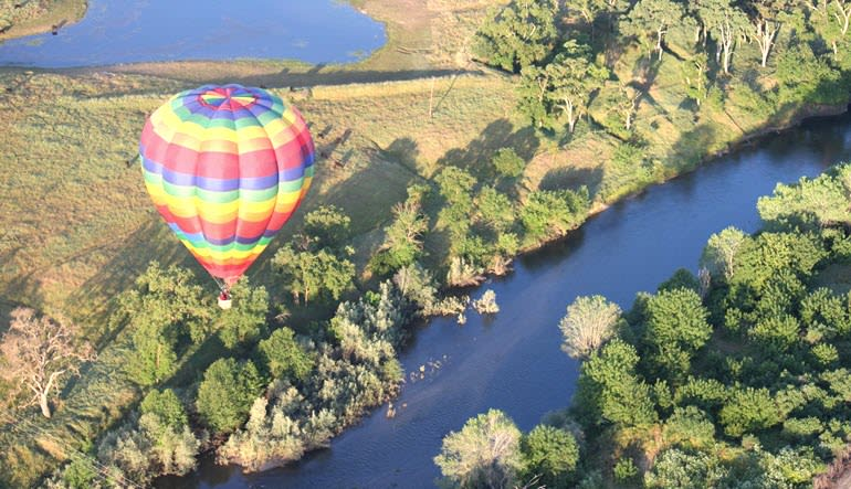 Hot Air Balloon Ride Sacramento River