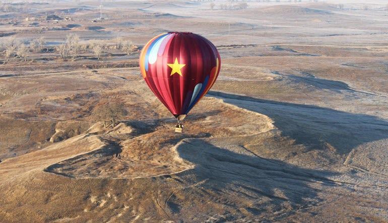 Hot Air Balloon Ride Sacramento Colour