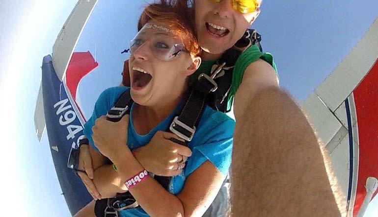 Skydive Detroit - 10,000ft Jump Weekends Jump