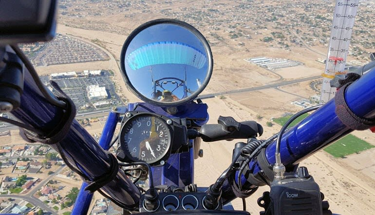Powered Parachuting Apple Valley Mirror